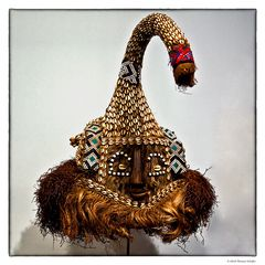 altertümlicher Hut von Indianern...
