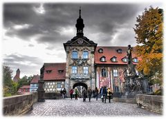 Altes Bamberger Rathaus - Stadtansicht