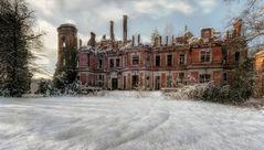 Altes Chateau in Belgien