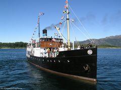 Altes Dampfschiff