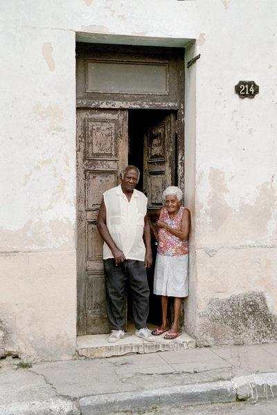 Altes Ehepaar in Havanna