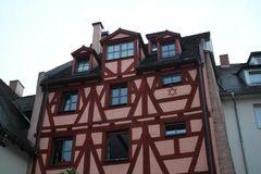 Altes Fachwerk in Nürnberg