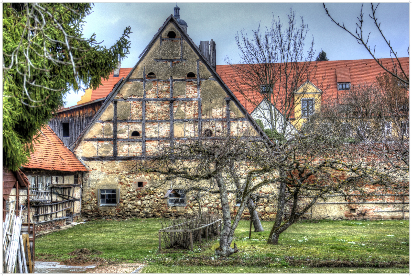 Altes Fachwerkhaus in Nördlingen