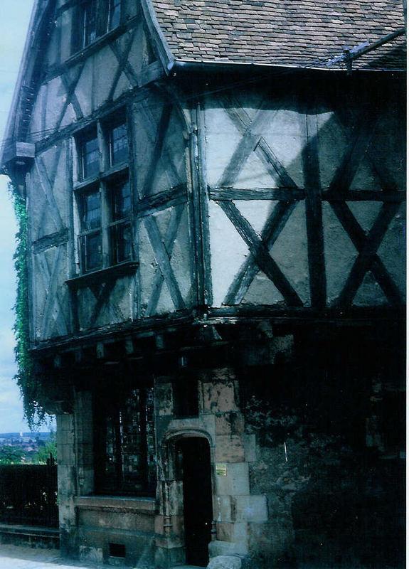 Altes Fachwerkhaus - Vieille maison à colombages