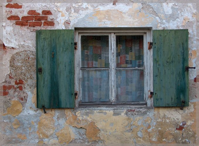 Altes Fenster in Leahad