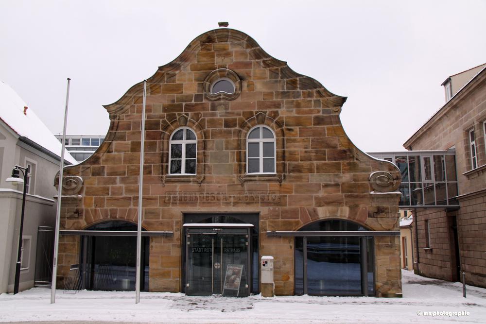 Altes Feuerwehrgerätehaus der Stadt Roth