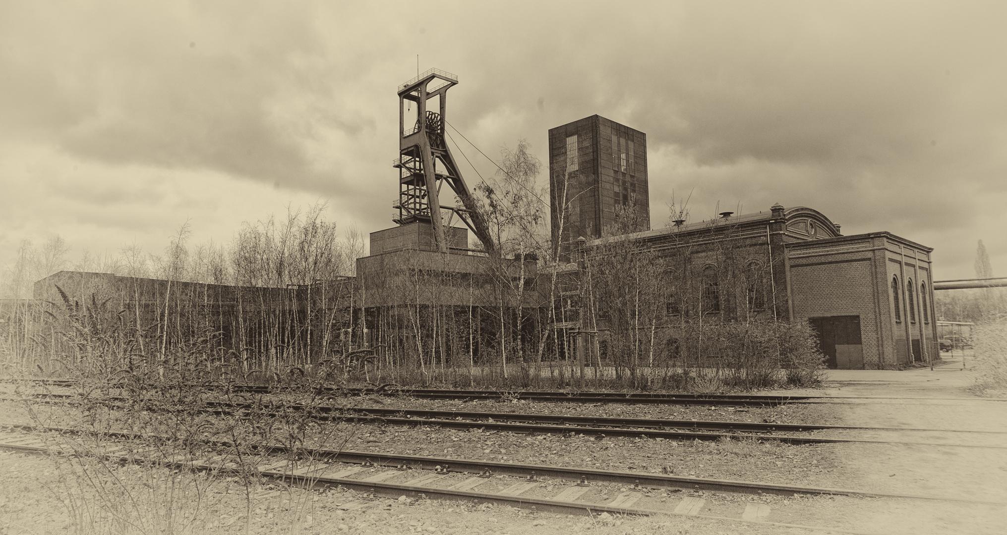 Altes Foto von Zollverein?