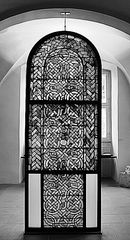 altes glasfenster