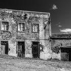 Altes Haus an der Rua do Pisao Nähe Miradouro do Pisao