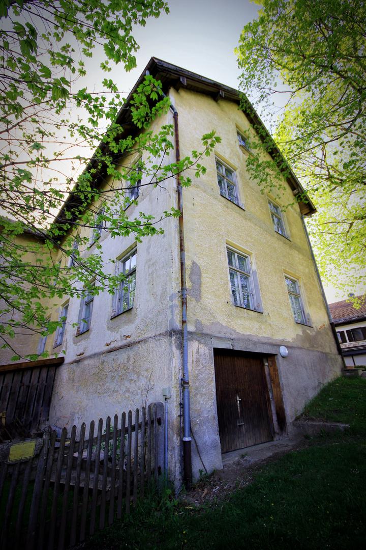 Altes Haus auf dem Hohenpeißenberg