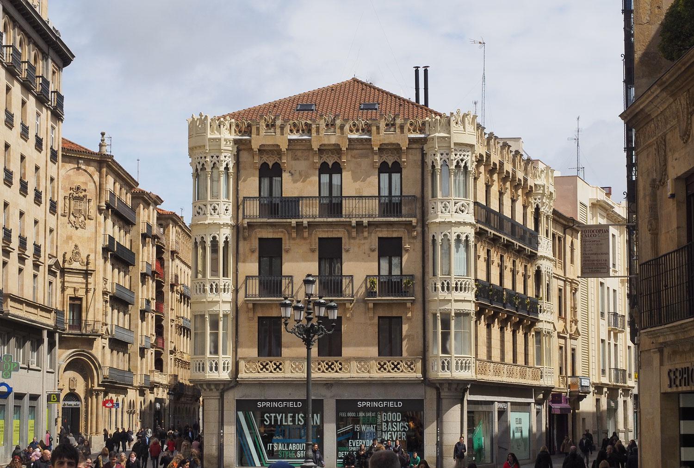 altes haus in salamanca foto bild europe portugal. Black Bedroom Furniture Sets. Home Design Ideas