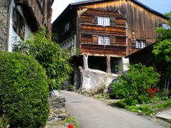 Altes Holz alte Mauern