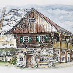 Altes Holzhaus...