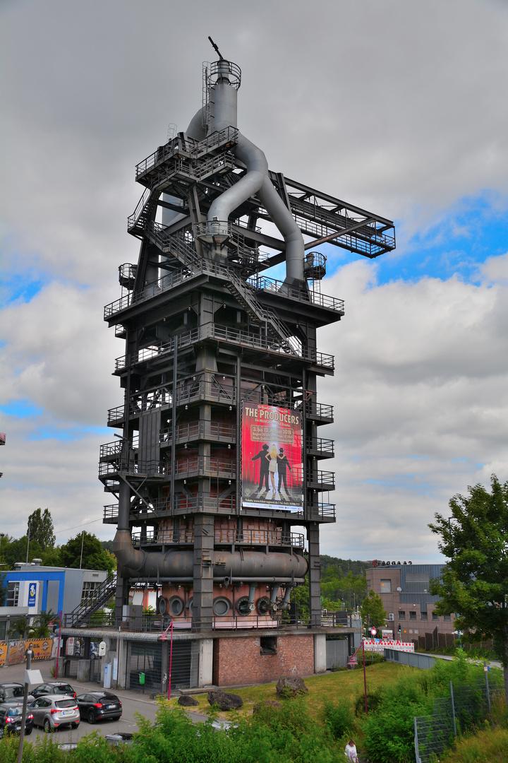 Altes Hüttenareal Neunkirchen, Saarland Foto & Bild ...