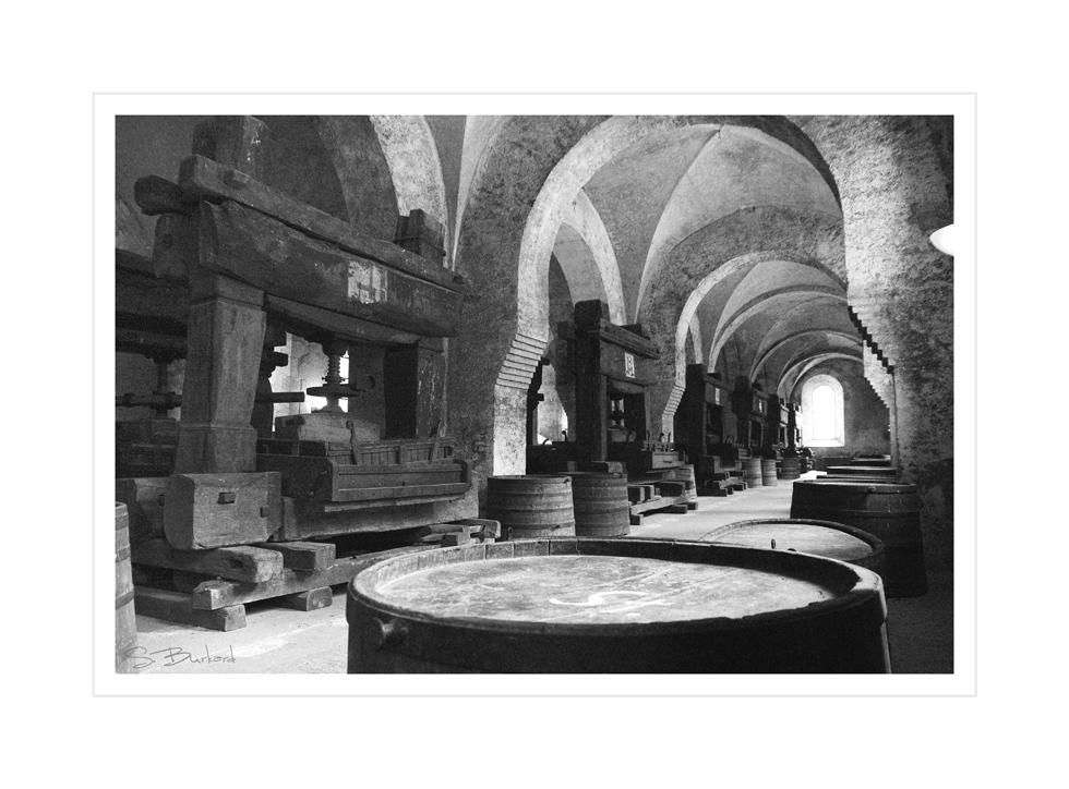 Altes Kelterhaus im Kloster Eberbach