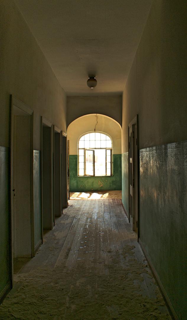 Altes Krankenhaus in Kolmannskuppe