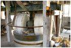 Altes Mühlwerk für Quarz