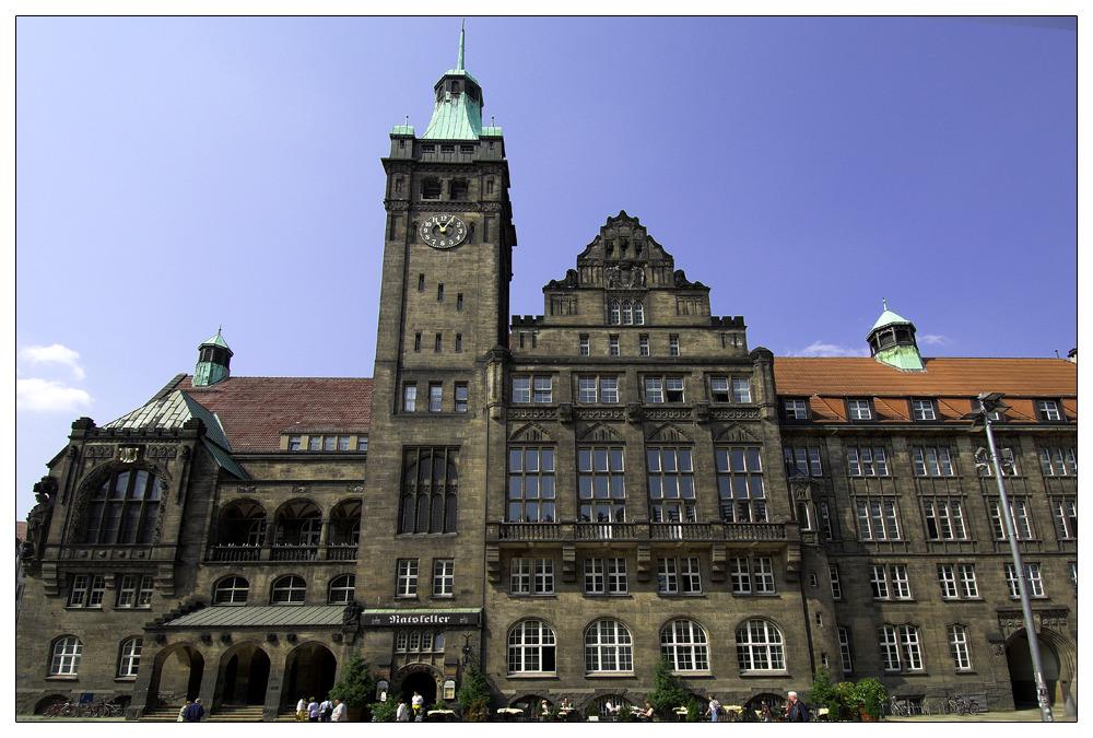 Altes Rathaus Chemnitz Original