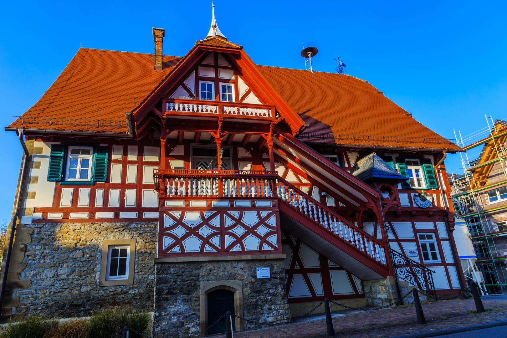 Altes Rathaus frisch poliert