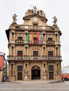Altes Rathaus in Pamplona