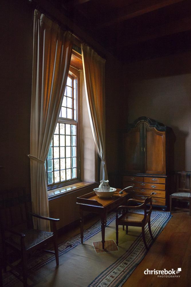 Altes Schlafzimmer im Manor House des Boschendal Wine Estate Foto ...