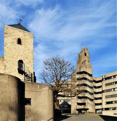 """"""" Altes Schloss """" und Rathaus Bensberg"""