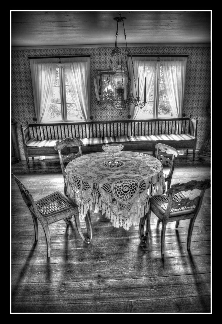 - Altes schwedisches Bauernhaus -