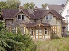 Altes Seemannshaus am Hafen von Zingst 2001