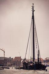 Altes Segelschiff in Wismar