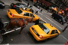 altes und neues Taxi