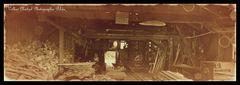 Altes verlassenes Sägewerk ......