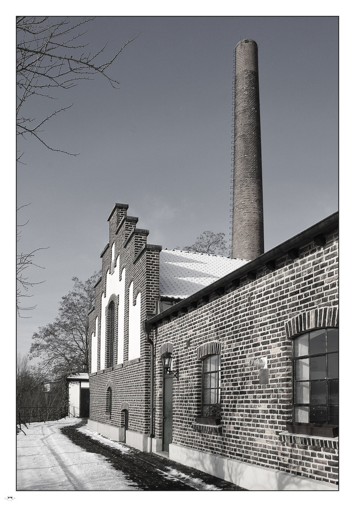 Altes Wasserwerk in Wesel