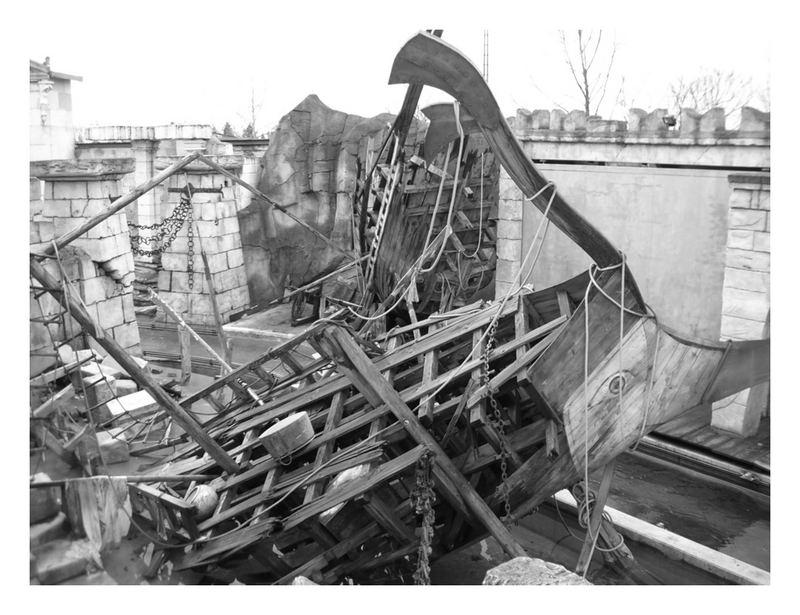 altes Wikingerschiff