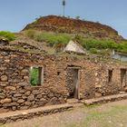 Altes zerfallenes Haus auf den Kapverden