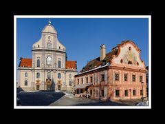 Altötting, Basilika und Franziskushaus