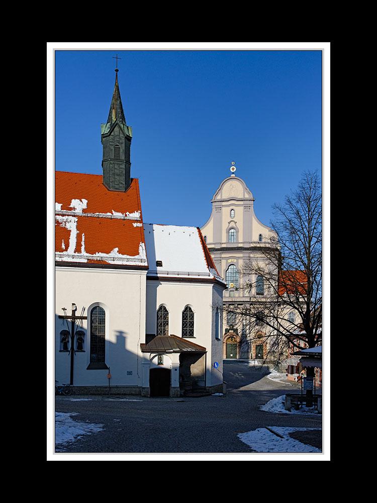 Altötting, Bruder-Konrad-Kloster und Basilika