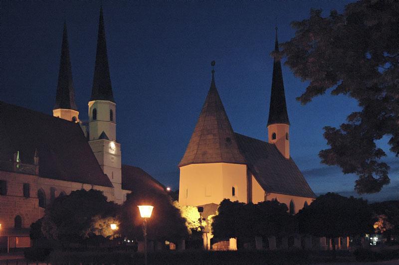 Altötting: Kapelle und Stiftskirche