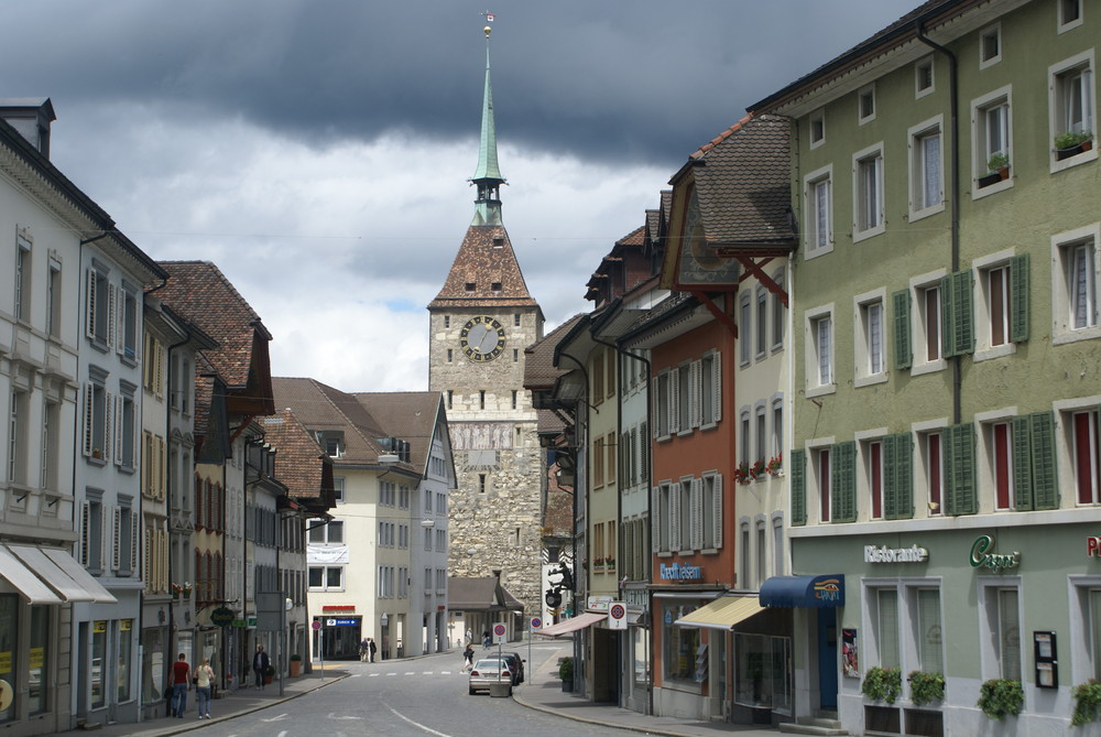 Hauptstadt Von Aargau