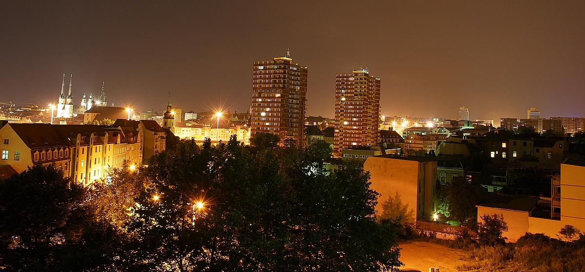 Altstadt-Halle@night