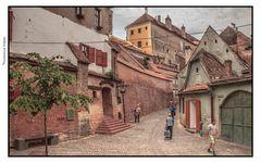 Altstadt, Hermannstadt, Sibiu, Romania