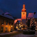 Altstadt im Schnee