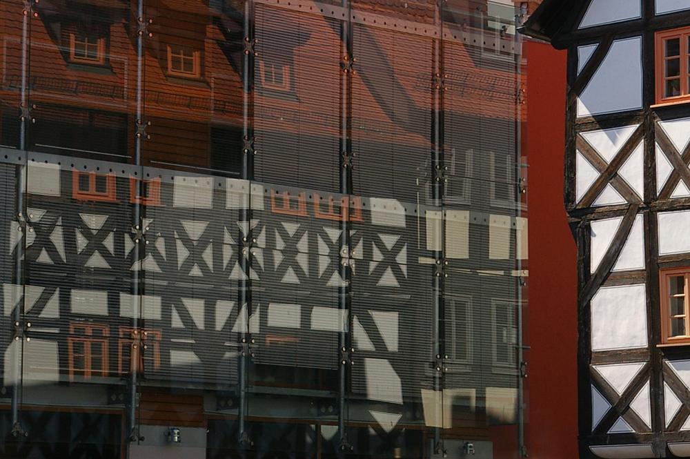 Altstadt im Spiegel