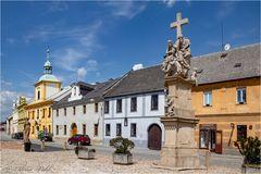 Altstadt mit Skulpturen