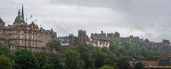 Altstadt-Panorama  -  Edinburgh/Schottland