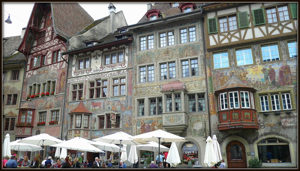 Altstadt Stein am Rhein, ( Schweiz )