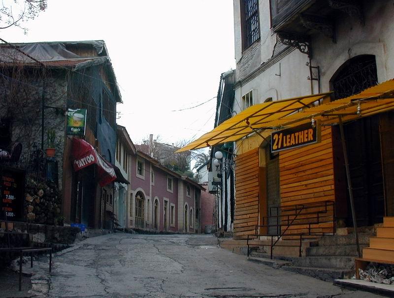 Altstadt von Antalya im Jänner