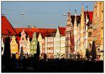Altstadt von Landshut und seine Giebelhäuser