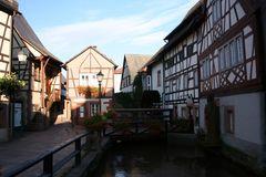 Altstadtansicht Annweiler am Trifels
