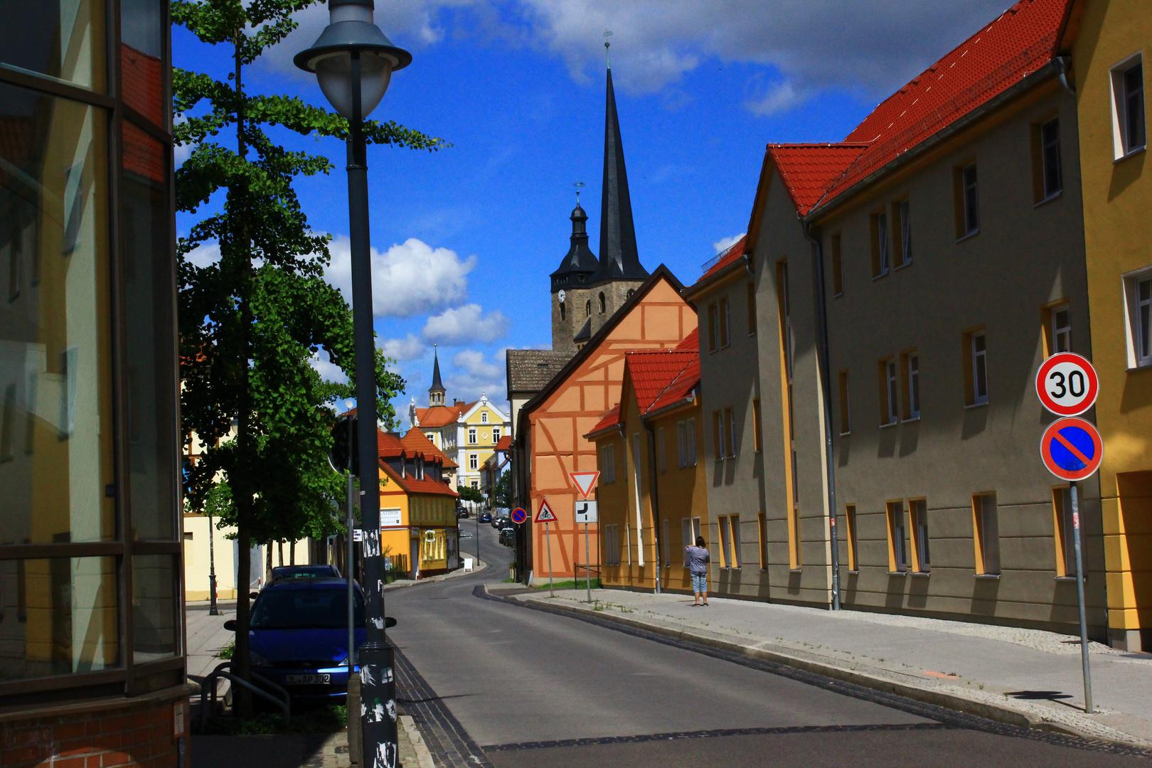Altstadtaufnahme meiner Heimatstadt