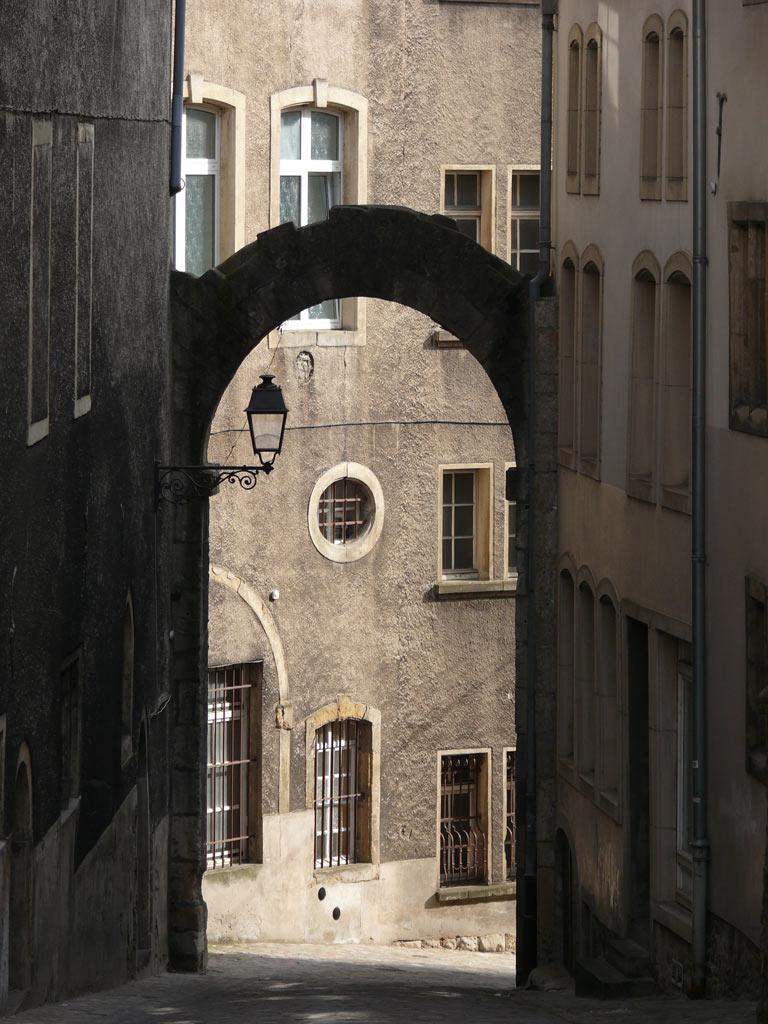 Altstadtgasse in Luxemburg
